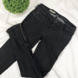 AG the Jegging super skinny fit ankle zipper jeans